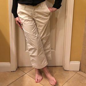 GAP NWT wide leg crop pants Size 4R